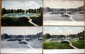 1907 Postcard: 'Broadway Park - Somerville, Massachusetts MA Mass'