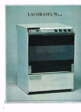 PUBLICITE advertising 1966   LACORAMA 70  cuisinière