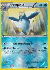 Prinplouf Reverse-N&B:Explorateurs Obscurs-28/108-Carte Pokemon Neuve France