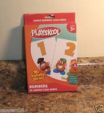Playskool Mr Potato Head Jumbo Flash Cards Numbers Preschool Teacher Resource
