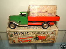 VINTAGE TRI-ANG MINIC  MODELNo.25M      DELIVERY LORRY WITH *CASES*      VN MIB