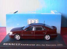 Renault Safrane Biturbo Baccara 1993 Universal Hobbies 1 43