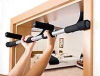 4in1-Fitnessgerät für den Türrahmen KLIMMZUGSTANGE  NEU