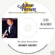 Bobby Short  Radio Interview 4 Segments 20 Minutes   CD