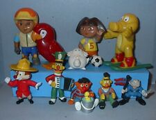 VINTAGE TOY LOT of FAST FOOD & OTHER PVC TOYS 10 MISC TOYS 1970's 1980's # 4