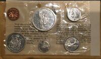 1965 CANADA 🇨🇦 6 SILVER COINS PROOF-LIKE SET, MINT SEALED, ENVELOPE & COA.