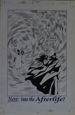 RYAN SOOK / JIM ROYAL original art, SPECTRE #8 pg 22,11x17, Splash, Heaven