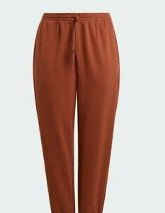 ADIDAS Women's Cuffed Jogger Pants Redwood Size Medium