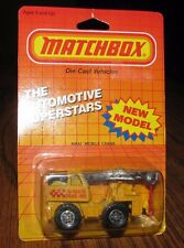 Vintage 1979 Refuse Garbage Truck Matchbox MB36 Toy Blue Metro D.P.W. 66 Trash