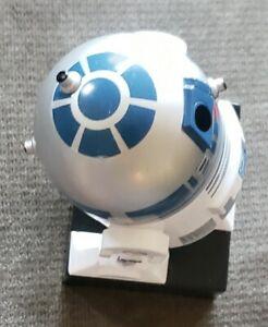 VG DISNEY GALERIE STAR WARS R2D2 DESK FIGURINE/CANDY DISPENSER WITH SOUNDS R2-D2