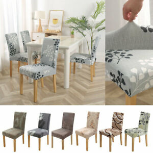 Spandex Stretch Chair Cover Floral Slipcover Elastic Seat Chair Cover Decor