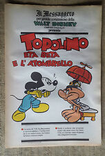 Topolino Eta beta e l'atombrello -  supplemento a Il Messaggero - Walt Disney
