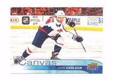 John Carlson 2016-17 Upper Deck, UD Canvas, Hockey Card !!
