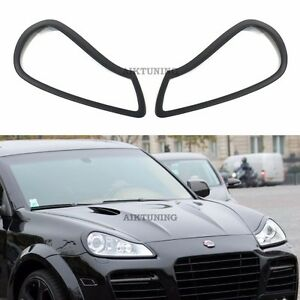 MG Eyebrow Set Lamp Spoiler Kit Eye Lid Spoilers (Fits Porsche Cayenne 957)