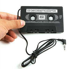 Universal 3.5mm Aux Car Audio Cassette Tape Adapter Transmitters for Mp3 Ipod
