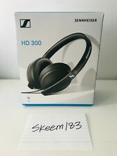 Sennheiser HD 300 Stereo Headphones Over Ear Dynamics Collapsible