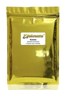 Unkrauts® Kanna 200:1 Extrakt (Sceletium Tortuosum) unfermentiert +10% gratis