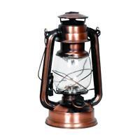 Nostalgie LED Laterne | Gartenleuchte | Camping Lampe | Zeltlampe | Sturmlampe