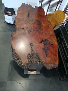Custom Live Edge Redwood dining room table