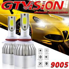 9005 LED Headlight Kit High Beam For Dodge Ram 1500 2500 3500 09-17 Xenon White