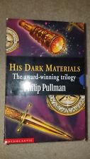 book 3 set box his dark materials philip pullman amber spyglass subtle knife