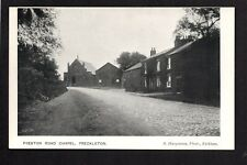 Freckleton Village, Fylde - Preston Road Chapel - printed postcard