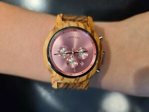Wooden Watch Mechanical Luxury Wood Wrist Watch Gifts Women BOBO BIRD