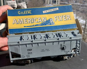 American Flyer S Gauge Cement Car W/ Original Box 1950-1960 Jersey Lines