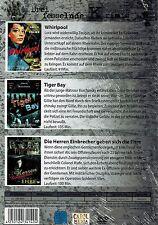 DVD - Drei fesselnde Krimis - Whirlpool / Tiger Bay / Die Herren Einbrecher ...