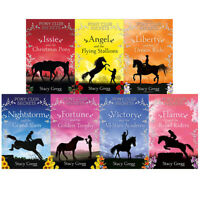 Pony Club Secrets Series Collection Angel and the Flying 7 Books Set Stacy Gregg
