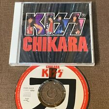 KISS Chikara JAPAN CD P30R-20008 3,000 JPY 12-page PS BOOKLET '88 issue NO OBI a