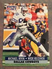 1991 Pro Set Football Card #132 Michael Irvin Dallas Cowboys HOF NM/MT