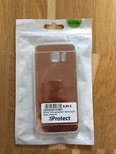 Samsung S7 Edge Schutzhülle Silikon rosegold spiegelnd