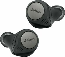 Jabra Elite 75t True Wireless Bluetooth Earbuds, with Charging Case.