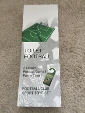 Toilet Football Fun Novelty Game New In Box Free Postage!