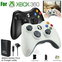 New Wireless Game Controller Gamepad For Microsoft XBOX 360 & PC WIN 7 8 10