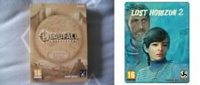 deadfall adventures collectors edition & lost horizon 2 steelbook  new&sealed