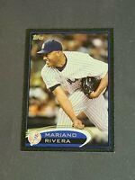 Mariano Rivera New York Yankees 2012 Topps Black #180 15/61