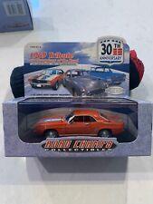 1999 Road Champs Collectibles 30 Anniversary 1969 Tribute 1969 Chevrolet Camaro