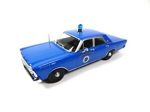 FORD GALAXIE 500 Police USA 1/43 - Ist Voiture miniature Diecast Model Car PM45