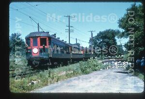 Duplicate Slide Streetcar CNS&M Chicago North Shore & Milwaukee Car 155 & 3