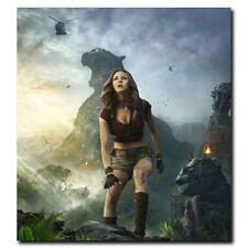 Jumanji Welcome To The Jungle Karen Gillan 24x24inch Movie Silk Poster