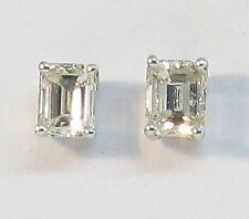 Screw Back (pierced) Very Good Cut SI1 Fine Diamond Earrings