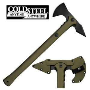 COLD STEEL TRENCH HAWK TOMAHAWK TACTICAL CUTTING CHOPPING TOOL BLADE WITH SHEATH