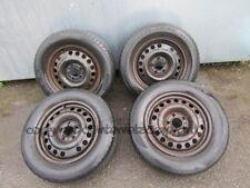 vauxhall opel zafira a mk1 99-05 steel wheels wheel x4 set + reifen 195 65 15