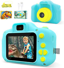 Dinosaur Theme Kids Camera HD 1080p Video Selfie Digital (With 32GB SD CARD)