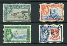 Gilbert & Ellice Islands 1939-55 1s to 5s SG51/54 FU cat £43