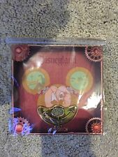 """Disneyland Mechanical Kingdom Mickey Mouse Pin 2 of 4 """"MOUTH"""" Steampunk LE 2000"""