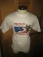 Proud To Be An American Eagle Flag T Shirt L NWOT