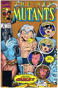 NEW MUTANTS #87 (1991) 1st CABLE 2nd Print MARVEL Comics DEADPOOL 2 Movie N.MINT